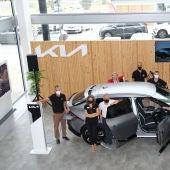 Caetano Móvil Sur presenta el nuevo modelo KIA EV6