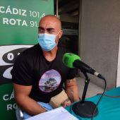 José María Domínguez, portavoz de los vecinos de La Casería
