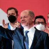Olaf Scholz, tras las elecciones en Alemania