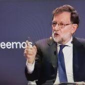 Mariano Rajoy en la Convención nacional del PP