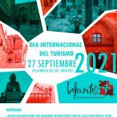 Cartel actividades Día Mundial del Turismo. Villanueva de los Infantes