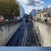 Comienzan las obras en el cruce de la Ronda de Nelle con la Avenida de Arteixo en A Coruña