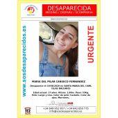 María del Pilar Canseco Fernández, de 17 años, desapareció en Santa Maria del Camí hace un año
