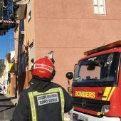 Los bomberos en huelga reclaman estabilidad en su empleo