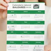 Calendario laboral de Baleares para 2022: estos son los días festivos
