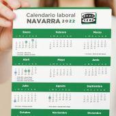 Calendario laboral de Navarra para 2022