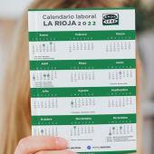 Calendario laboral en La Rioja para el año 2022