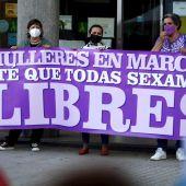 Concentración feminista en A Coruña