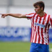 Pablo García, futbolista del Sporting.