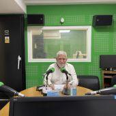 Miguel Caride, nos estudios de Onda Cero Ourense
