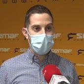 Diego Martín, portavoz del SEMAF.