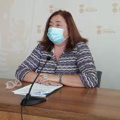 Cándida Verdier, portavoz del Gobierno de Chiclana