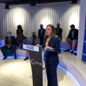 María Calvo, presidenta de FADE