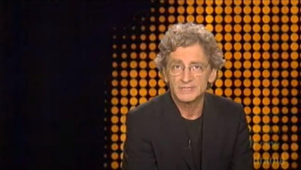 Captura de imagen de Antonio Gasset presentando 'Días de cine'