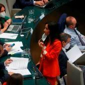 Begoña Villacís estalla contra Vox por utilizar una imagen de su hija en una campaña antiaborto