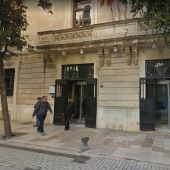 Fachada de la Conselleria d'Hisenda del Govern, situada en la calle del Palau Reial de Palma