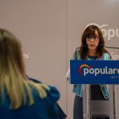 Gemma Allué, portavoz del PP en el Ayuntamiento de Huesca