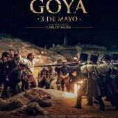 Cartel del cortometraje filmado por Saura sobre la obra de Goya