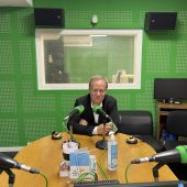 Rafa Villarino nos estudios de Onda Cero Ourense