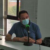 Vicente García, secretario general de CC.OO del Henares