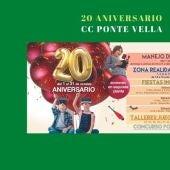 Actividades para todos en el 20 aniversario de CC Ponte Vella