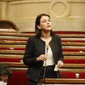 Eva Granados, en una intervenció al Parlament.