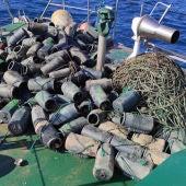 Nueva operación contra la pesca furtiva de pulpos en Cantabria