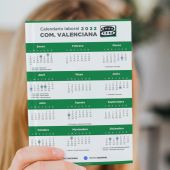Calendario laboral de la Comunitat Valenciana para 2022