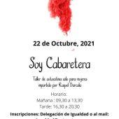 Cartel del evento 'Soy Cabaretera' en Rota