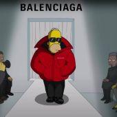Balenciaga desfila con Los Simpson.