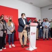 Rafael Lemus obtiene el 77% de los votos para ser reelegido secretario general del PSOE provincial de Badajoz