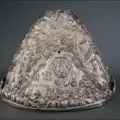 El tesoro de la Virgen de la Caridad de Villarrobledo ya se encuentra en el Museo del Prado