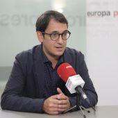 El Conseller de trabajo, modelo económico y turismo, Iago Negueruela, en una entrevista concedida a Europa Press.