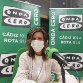 Mara Rodríguez, portavoz del PSOE de Cádiz en el Ayuntamiento de Cádiz