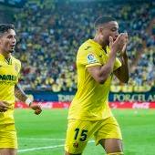 Danjuma celebra un gol en La Cerámica