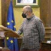 José María Ponce Candela, promete su cargo como concejal en representación de Podemos-Equo