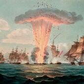 Explosión de la fragata Las Mercedes