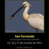 Cartel del evento que se celebrará en San Fernandio