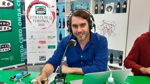 Rafa Latorre desde la Torre del Vino en Socuéllamos