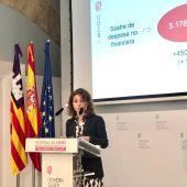 Rosario Sánchez es la consellera balear de Hacienda y Relaciones Exteriores