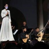 """""""Les Scaramouches"""", con Ana Villa, Aarón Zapico y Natalia Huarte."""