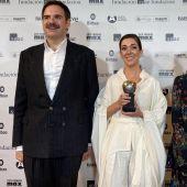Jorge Usón, Carmen Barrantes y Amelia Hernández