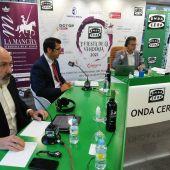 José Manuel Caballero durante la entrevista de Carlos Alsina