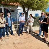 Un grupo de periodistas belgas visitan el parque natural de las lagunas de Torrevieja y La Mata