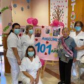 Angelines cumple 101 años
