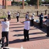 El Centro de Mayores retoma su programación con el inicio de las Actividades Físicas en el Parque Pedro Zerolo