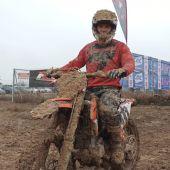 El piloto de Motocross quintanareño logra una buena posición en el Campeonato madrileño