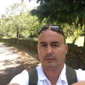 Felipe Alonso en el Camino de Santiago