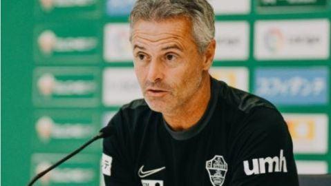 Fran Escribá, entrenador del Elche.