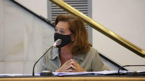 La diputada de Fondos Europeos, María Gómez